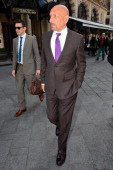 Sir Ben Kingsley sighted in Leicester Square on March 12 2014 in London England