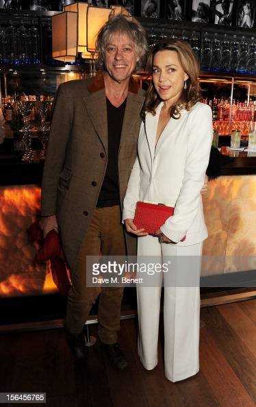 Sir Bob Geldof and Jeanne Marine attend an after party celebrating the launch of 'Kate The Kate Moss Book' hosted by Marc Jacobs published by Rizzoli...