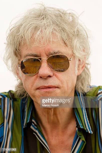 Sir Bob Geldof of the Boomtown Rats poses for pictures at the Seenland Festival on July 7 2013 in Hoyerswerda Germany