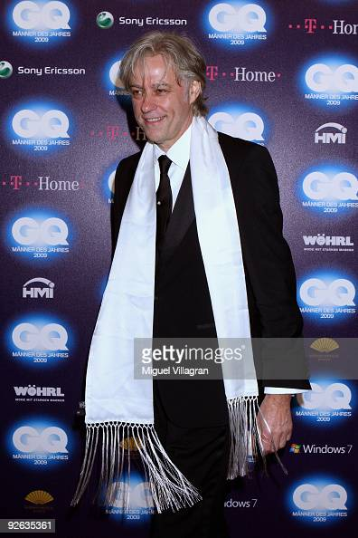 Sir Bob Geldorf arrives on the red carpet prior to the GQ Men Of The Year 2009 award ceremony on November 3 2009 in Munich Germany