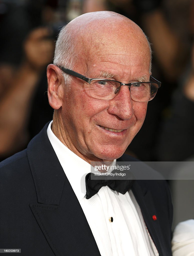 Sir Bobby Charlton attends the GQ Men of the Year awards at The Royal Opera House on September 3, 2013 in London, England.