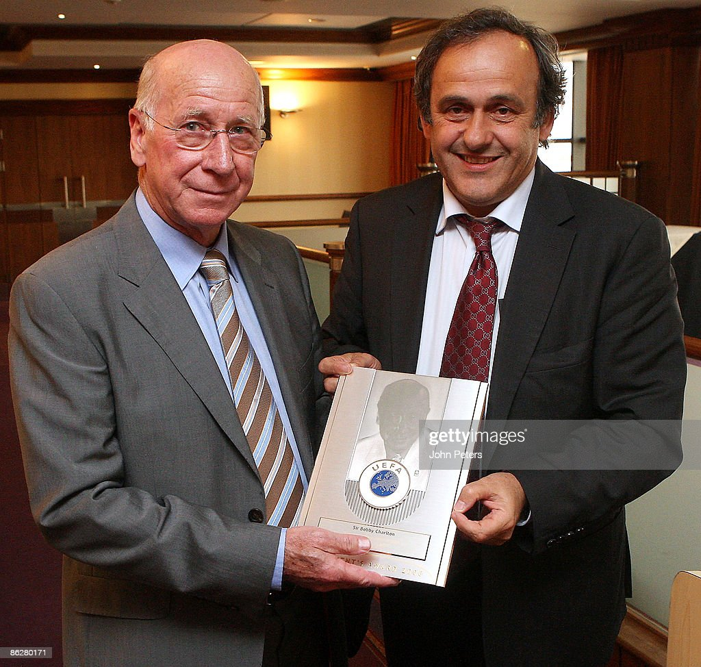 Sir Bobby Charlton Honoured By UEFA s and