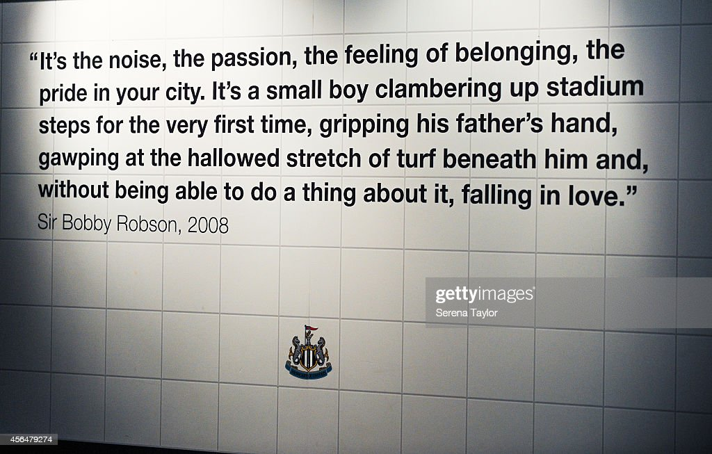 Quote Sir Bobby Robson