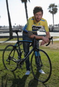 Sir Bradley Wiggins of Great Britain riding for Team Sky poses for a portrait after winning the 2014 Amgen Tour of California on May 19 2014 in...