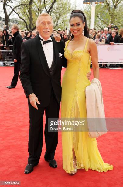 Sir Bruce Forsyth and wife Lady Wilnelia Forsyth attend the Arqiva British Academy Television Awards 2013 at the Royal Festival Hall on May 12 2013...