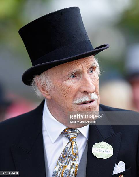 Sir Bruce Forsyth attends day 1 of Royal Ascot at Ascot Racecourse on June 16 2015 in Ascot England