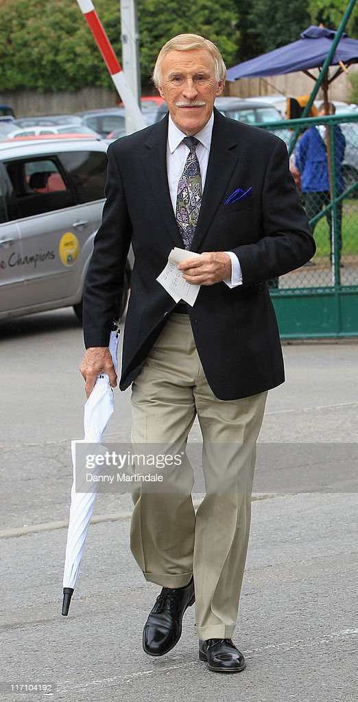 Sir <a gi-track='captionPersonalityLinkClicked' href=/galleries/search?phrase=Bruce+Forsyth&family=editorial&specificpeople=158119 ng-click='$event.stopPropagation()'>Bruce Forsyth</a> attends the Wimbledon Championships 2011 at the All England Club on June 22, 2011 in London, England.