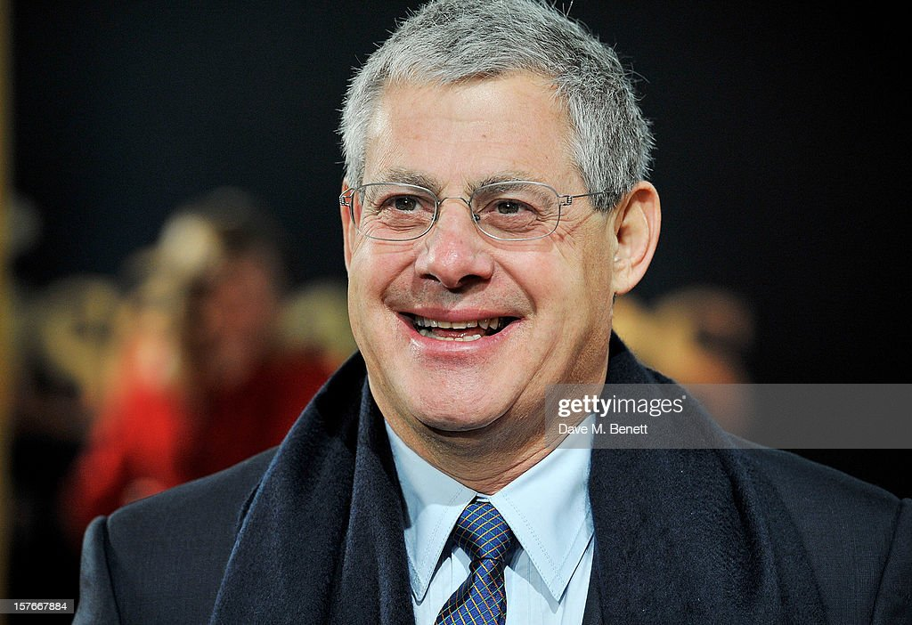 Sir Cameron Mackintosh attends the World Premiere of 'Les Miserables' at Odeon Leicester Square on December 5, 2012 in London, England.