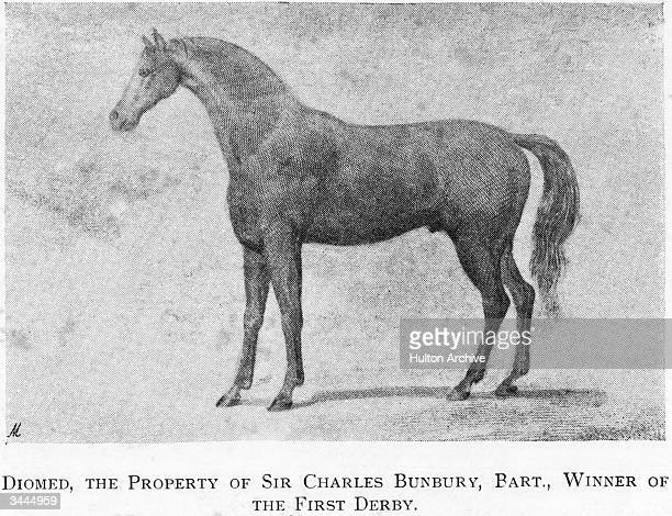 Sir Charles Banbury's horse Diomed the first winner of the Epsom Derby 1780