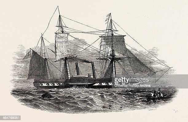 Sir Charles Napier's Steamship 'sidon' 1846