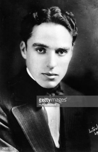 Sir Charles Spencer Chaplin the English film actor and director