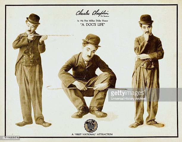 Sir Charles Spencer 'Charlie' Chaplin KBE in 'A Dog's Life was an English actor comedian and filmmaker who rose to fame in the silent era Chaplin...