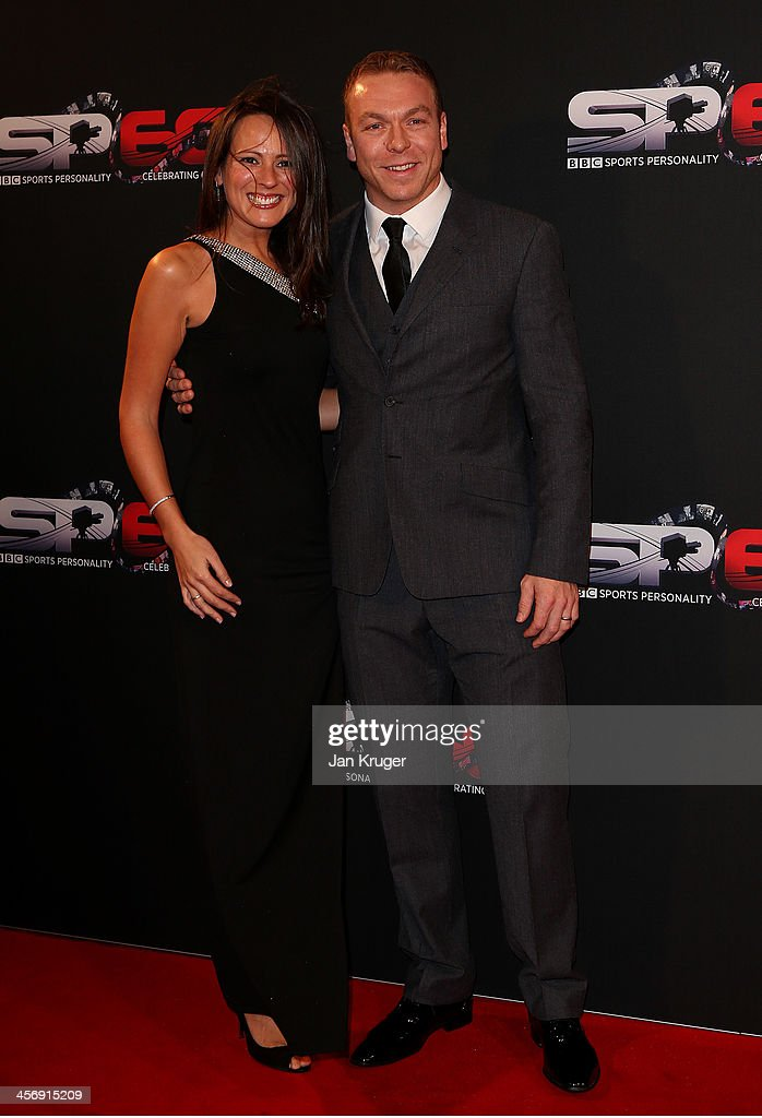 Sir <a gi-track='captionPersonalityLinkClicked' href=/galleries/search?phrase=Chris+Hoy&family=editorial&specificpeople=171259 ng-click='$event.stopPropagation()'>Chris Hoy</a> and Sarra Kemp attend the BBC Sports Personality of the Year Awards at First Direct Arena on December 15, 2013 in Leeds, England.