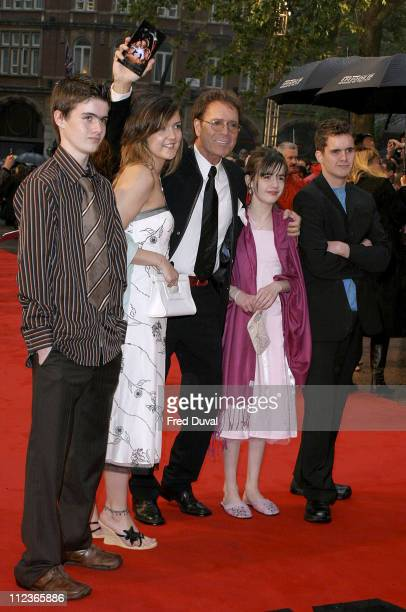 Sir Cliff Richard and guests during 'Star Wars Episode III Revenge of the Sith' London Premiere at Odeon Leicester Square in London Great Britain