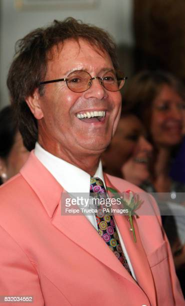 Sir Cliff Richard at the Summer's Evening party hosted by the Earl Countess Spencer in aid of the Sir Cliff Richard Tennis Foundation from Spencer...