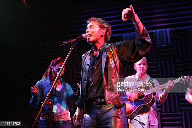 Sir Cliff Richard during Country Takes New York City An Evening with Sir Cliff Richard and Friends at Joe's Pub in New York City New York United...