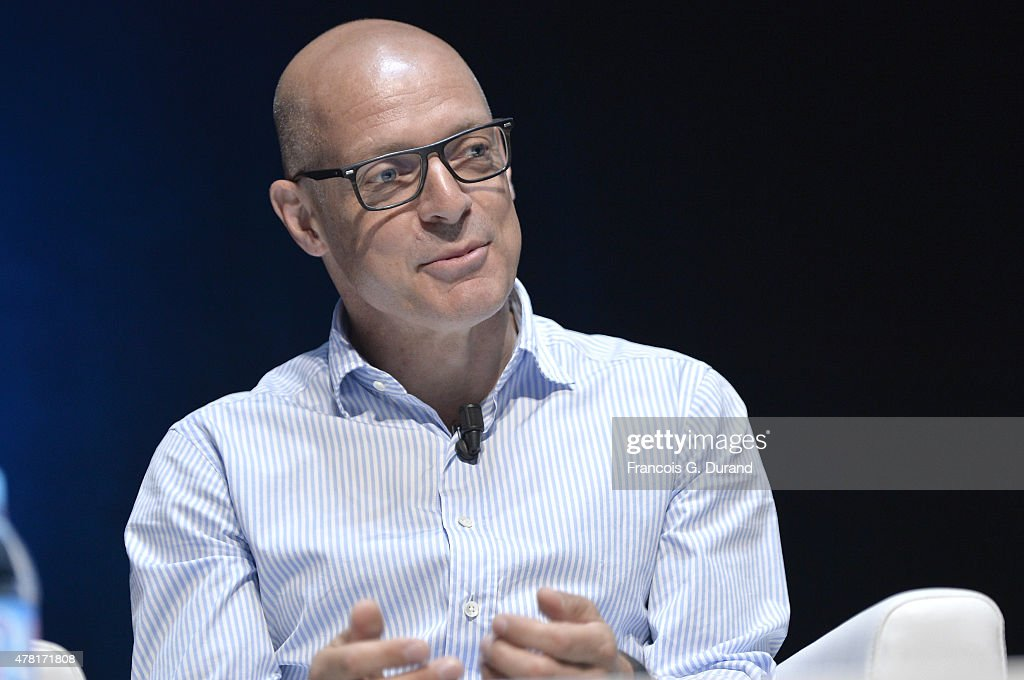 Sir <a gi-track='captionPersonalityLinkClicked' href=/galleries/search?phrase=Dave+Brailsford&family=editorial&specificpeople=3000000 ng-click='$event.stopPropagation()'>Dave Brailsford</a> speaks on stage during the Dentsu Aegis Network seminar as part of the Cannes Lions International Festival of Creativity on June 23, 2015 in Cannes, France.