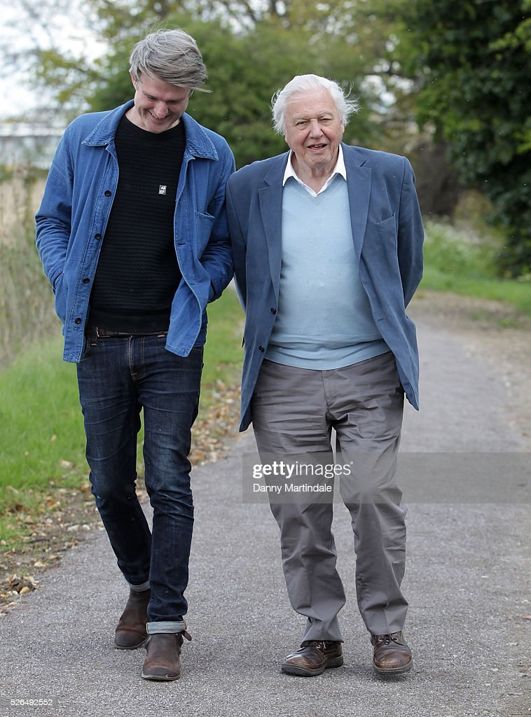 Sir <a gi-track='captionPersonalityLinkClicked' href=/galleries/search?phrase=David+Attenborough&family=editorial&specificpeople=224654 ng-click='$event.stopPropagation()'>David Attenborough</a> and David Mooney opens Woodberry Wetlands on April 30, 2016 in London, United Kingdom.