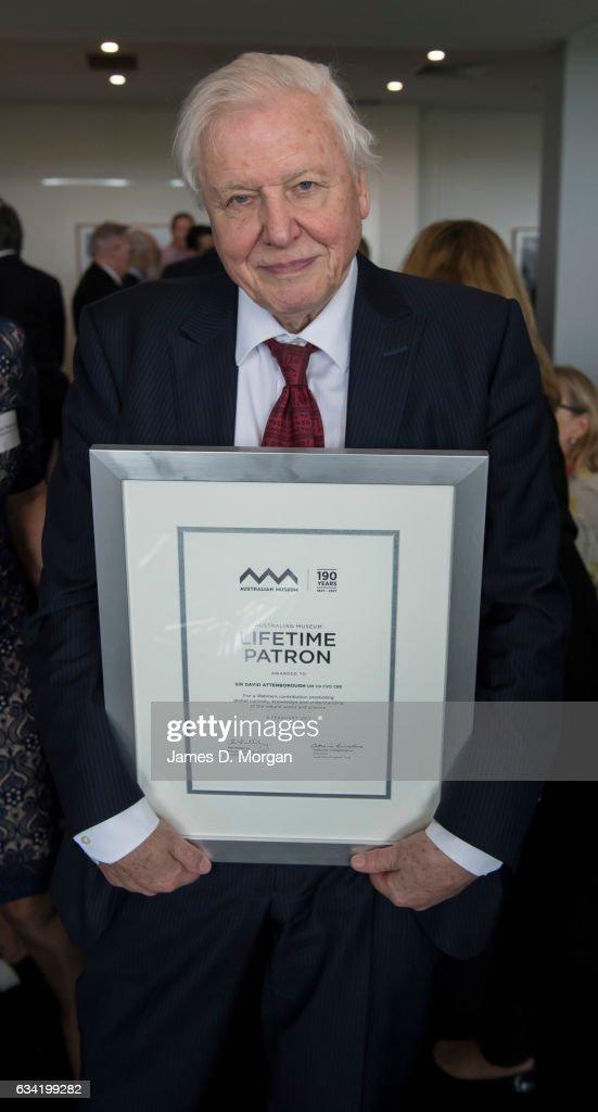 Sir David Attenborough Receives Lifetime Patron Award From Australia Museum