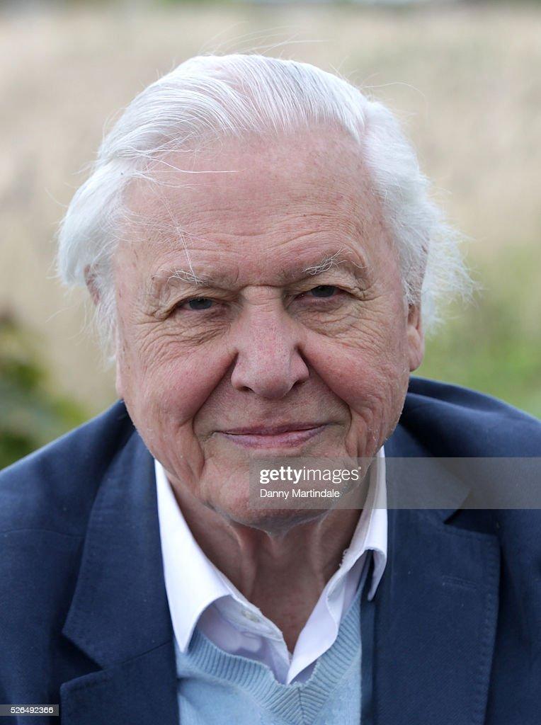 Sir David Attenborough opens Woodberry Wetlands on April 30, 2016 in London, United Kingdom.
