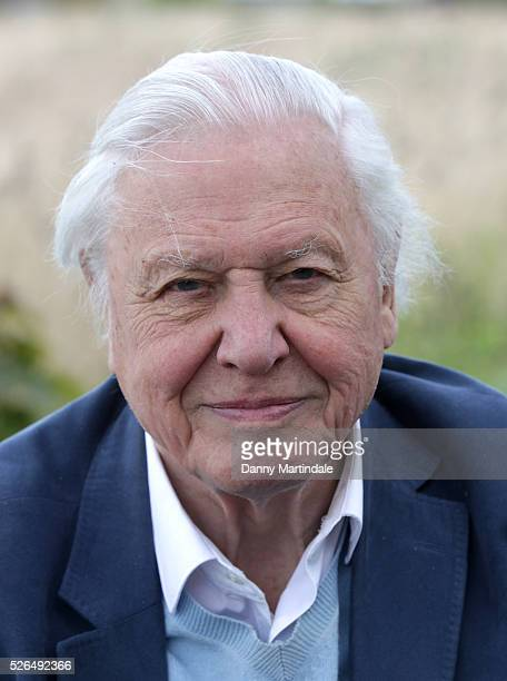 Sir David Attenborough opens Woodberry Wetlands on April 30 2016 in London United Kingdom