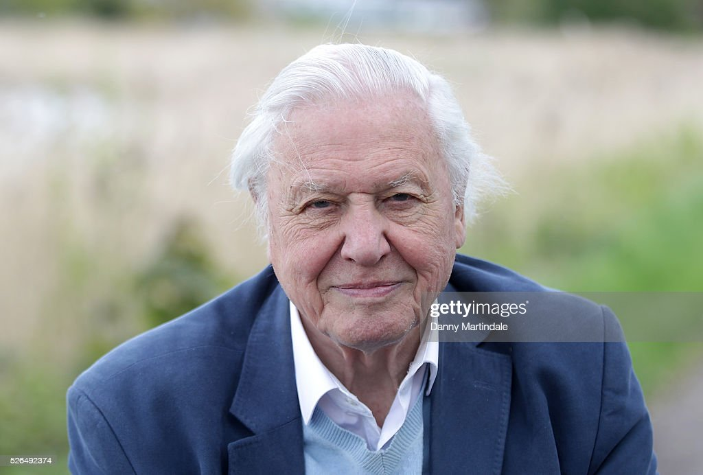 Sir David Attenborough opens Woodberry Wetlands on April 30, 2016 in London, United Kingdom.
