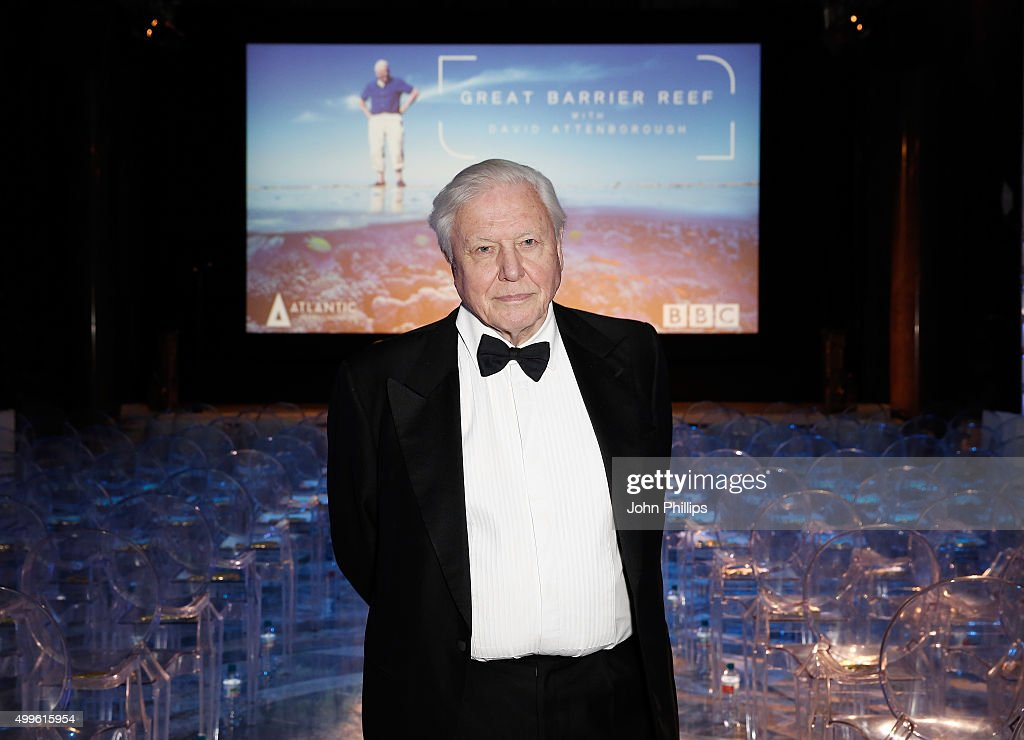 Great Barrier Reef With David Attenborough - Inside Shots From Private Screening At Australia House Of Sir David Attenborough's Latest Work