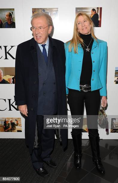 Sir David Frost and Lady Carina Frost arrive for the UK Premiere of The Bucket List at the Vue West End London