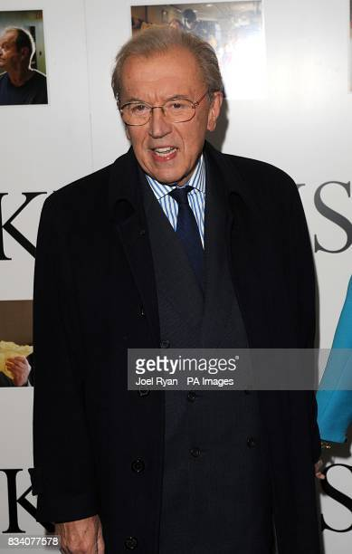 Sir David Frost arrives for the UK Premiere of The Bucket List at the Vue West End London