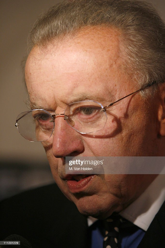 Sir David Frost during 'Frost/Nixon' Opening Night - After Party at Tavern - sir-david-frost-during-frostnixon-opening-night-after-party-at-tavern-picture-id111201229
