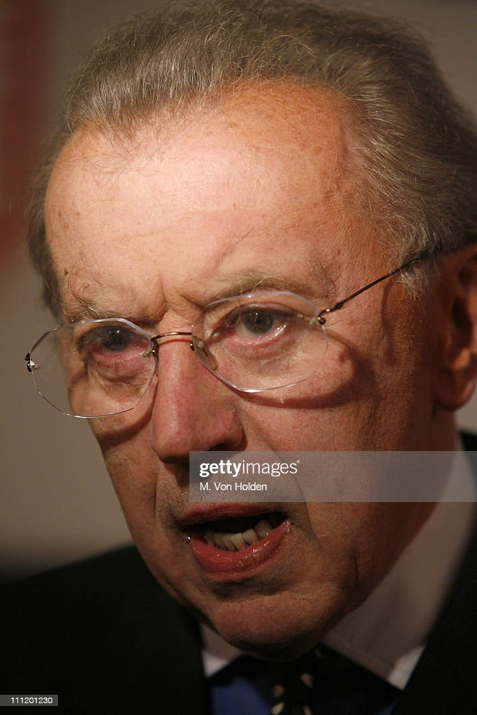 Sir David Frost during 'Frost/Nixon' Opening Night - After Party at Tavern - sir-david-frost-during-frostnixon-opening-night-after-party-at-tavern-picture-id111201230