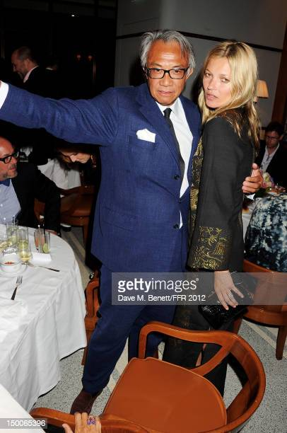 Sir David Tang and Kate Moss attend as Naomi Campbell hosts an Olympic Celebration Dinner in partnership with Fashion For Relief Interview Magazine...