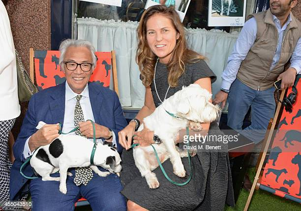 Sir David Tang and Lucy Tang attend Dogs Trust at George on September 9 2014 in London England