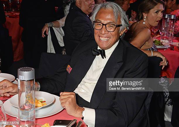 Sir David Tang attends amfAR's 21st Cinema Against AIDS Gala presented by WORLDVIEW BOLD FILMS and BVLGARI at Hotel du CapEdenRoc on May 22 2014 in...