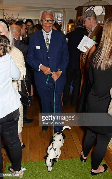 Sir David Tang attends Dogs Trust at George on September 9 2014 in London England
