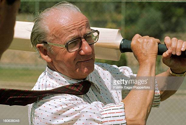 Sir Donald Bradman Adelaide Oval December 1974