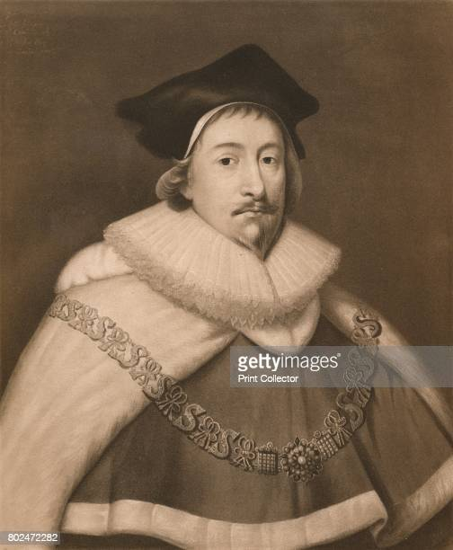 Sir Edward Coke' c16th century Sir Edward Coke English jurist From James I and VI by T F Henderson [Goupil Co Paris Edinburgh New York London...