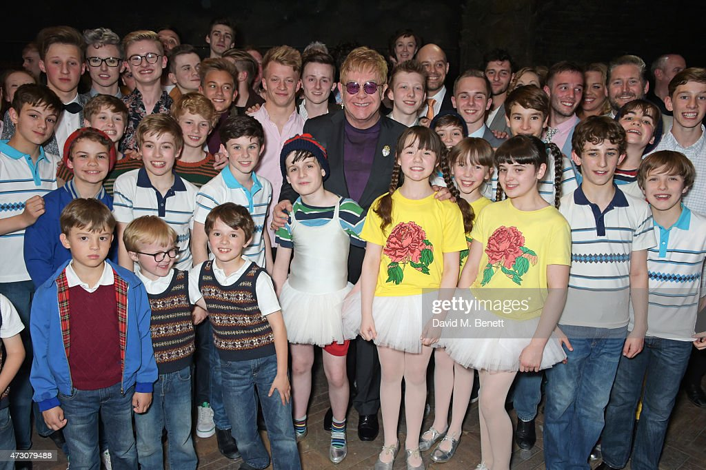 Sir Elton John attends as 'Billy Elliot The Musical' celebrates its ...