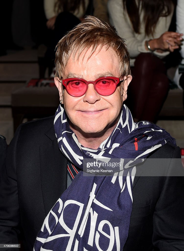 Sir <a gi-track='captionPersonalityLinkClicked' href=/galleries/search?phrase=Elton+John&family=editorial&specificpeople=171369 ng-click='$event.stopPropagation()'>Elton John</a> attends the Burberry 'London in Los Angeles' event at Griffith Observatory on April 16, 2015 in Los Angeles, California.