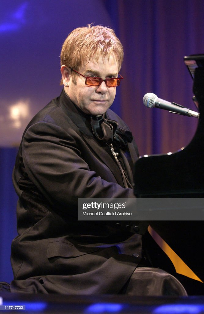 Sir Elton John during 'So The World May Hear' Awards Gala All Access at Rivercentre in St Paul Minnesota United States
