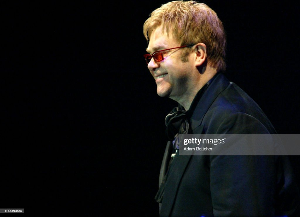 Sir Elton John during 'So The World May Hear' Sponsored by the Stakey Hearing Foundation at Rivercentre in St Paul Minnesota United States