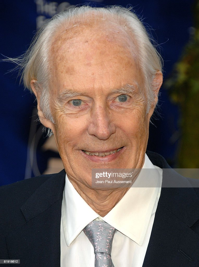 Sir George Martin arrives at the GRAMMY Foundation Starry Night held at the University of Southern California on July 12th, 2008 in Los Angeles, California.