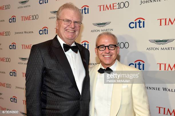 Sir Harold Stringer and Jess Cagle attend the 2017 TIME 100 Gala at Jazz at Lincoln Center on April 25 2017 in New York City