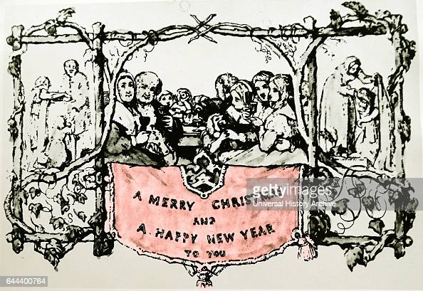 The sender stock photos and pictures getty images for Who commissioned the first christmas card in 1843
