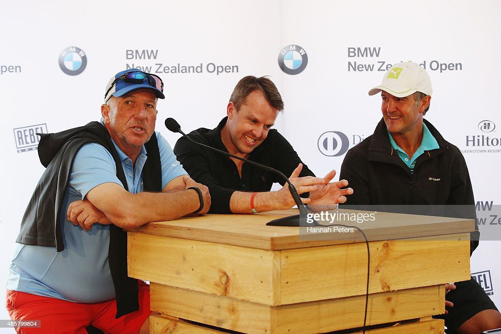 New Zealand Open Press Conference