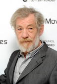 Sir Ian McKellan arrive at the First Light Movie Awards at the Odeon Leicester Square on March 2 2010 in London England
