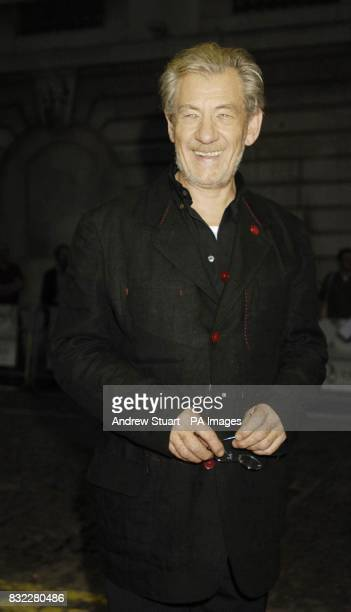Sir Ian McKellen arrives for the premiere of The Queen at the Curzon mayfair central London