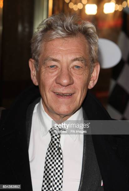 Sir Ian McKellen arrives for the UK premiere of Speed Racer at the Empire Leicester Square in central London