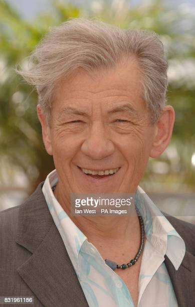 Sir Ian McKellen attends a photocall for his new film 'XMEN 3 The Last Stand' at the Palais du Festival in Cannes France