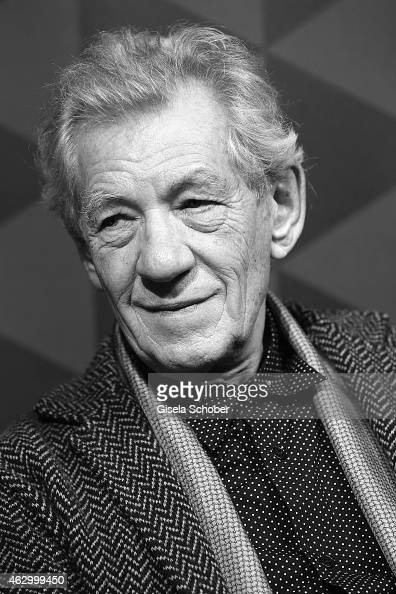 Sir Ian McKellen attends a QA for the film 'Mr Holmes' during the 65th Berlinale International Film Festival at the AUDI Lounge on February 8 2015 in...
